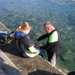 Jana Nachtigalová se potápění věnuje i s handicapem