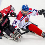 Paralympiáda, Pchjongčchang, sledge hokej, Japonsko - Česko