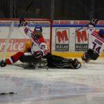 Turnaj sledge hokej Östersund 2017 Německo - Česko