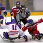 Turnaj sledge hokej Östersund 2017 Česko - Slovensko