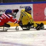 Turnaj sledge hokej Östersund 2017 Švédsko - Česko