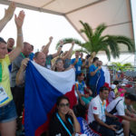 Čeští fanoušci na finále tenisového turnaje v Samsunu